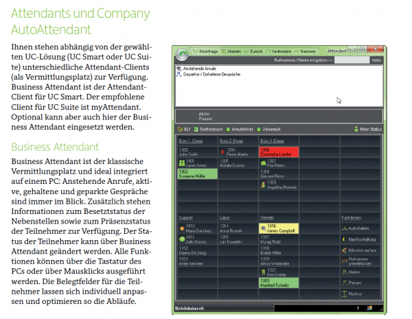 OpenScape Business V2 BLF Evaluierung